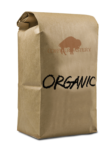 Bag of Organic Coffee.