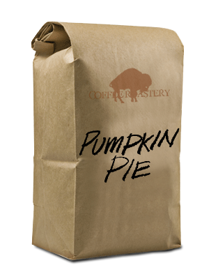 Bag of Pumpkin Pie Coffee