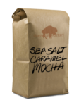Bag of Sea Salt Caramel Mocha Coffee